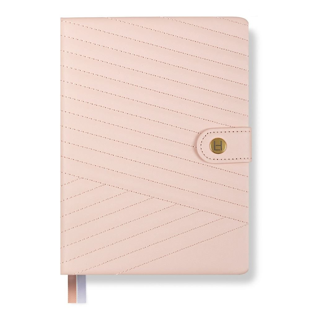 Phenomenal Woman Planner – Chevron-Quilted – Blush – Luxe Edition