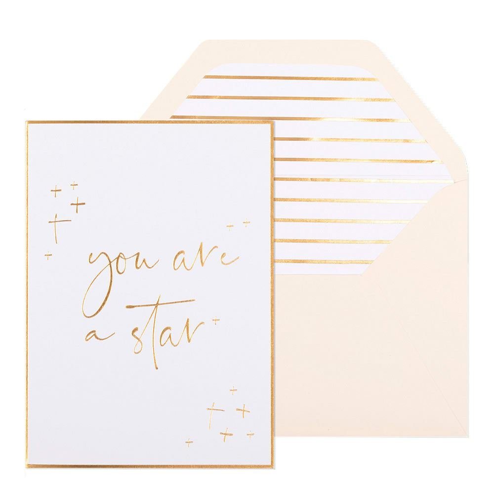 You Are a Star Greeting Card