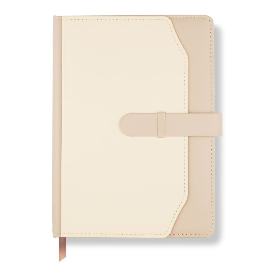 LH Agenda Meeting Notebook Ivory Luxe